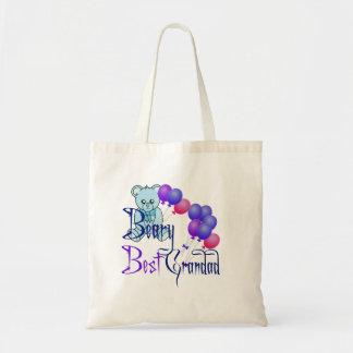 Beary Best Grandad Tote Bag