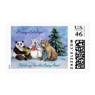 Beary Best Stamp stamp