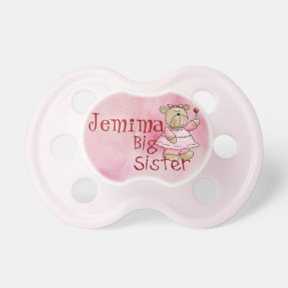 Beary Big Sister Pacifier