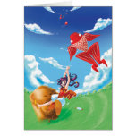 Beary Blustery Day card