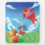 Beary Blustery Day mousepad