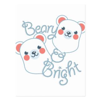 Beary & Bright Postcard