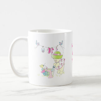 Beary Busy Coffee Mug Baby Shower Favor