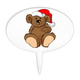 Beary Christmas Cake Topper