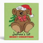 Beary Christmas Keepsake Binder