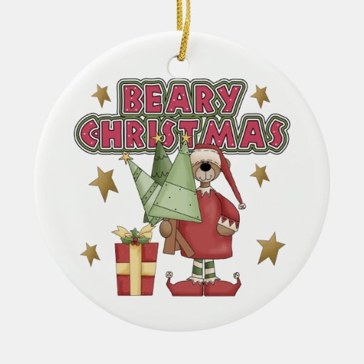 Beary Christmas Ornament