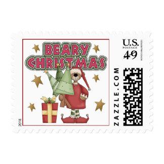Beary Christmas Stamp