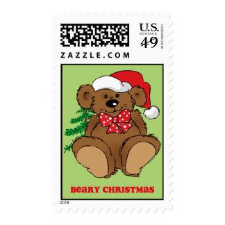 Beary Christmas Postage