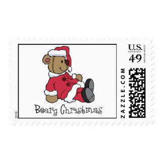 Beary Christmas Stamps