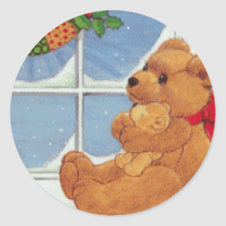 Beary Christmas Stickers