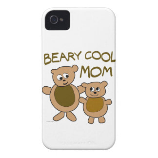 Beary Cool Mom iPhone 4 Case-Mate Cases