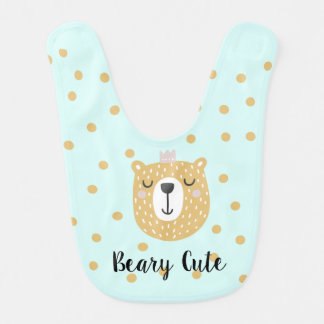 Beary Cute Baby bib