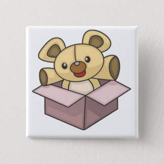 Beary Cute Gift Button