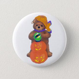 Beary Cute Gypsy Pinback Button