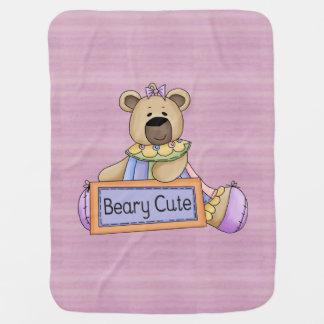 Beary Cute Receiving Blanket