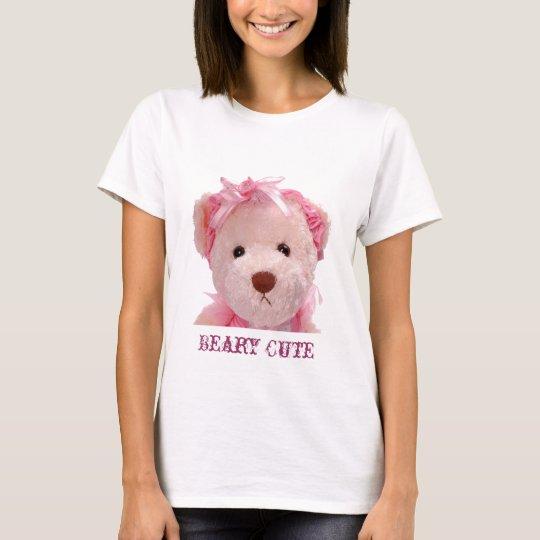 Beary Cute womens T-Shirt