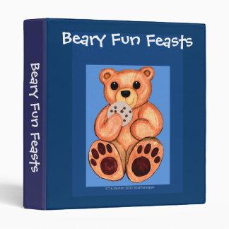 Beary Fun Feasts Recipe Binder