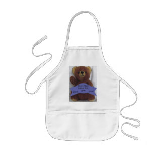 Beary Glad to be a Grad Kids' Apron