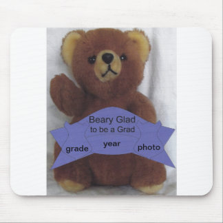 Beary Glad to be a Grad Mouse Pad