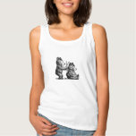 Hand shaped Beary Happy Hairdresser Tank Top