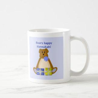 Beary Happy Hannukah Coffee Mugs