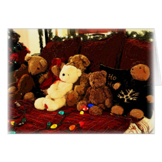 Beary, Merry Christmas! Cards