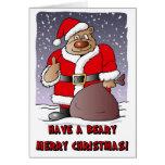 Beary Merry Christmas card
