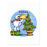 Beary Merry Christmas Card Post Cards