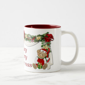 Beary Merry Christmas Coffee Mugs
