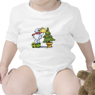 Beary Merry Christmas - First Christmas Baby Bodysuits