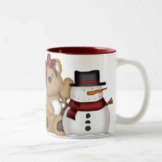 Beary Merry Christmas Mug