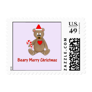 Beary Merry Christmas Stamp