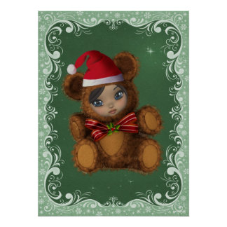 Beary Merry Christmas Print