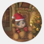 Beary Merry Christmas Sticker
