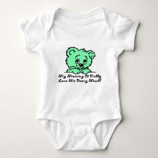 Beary Much Love Baby Bodysuit