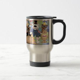 Beary New Year Travel Mug