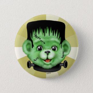 BEARY SCARY HALLOWEEN CUTE CARTOON  Button 2¼ Inch