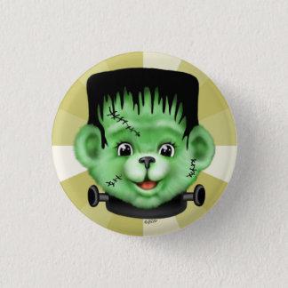 BEARY SCARY HALLOWEEN CUTE CARTOON  Button small