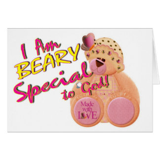 Beary Special to God Card