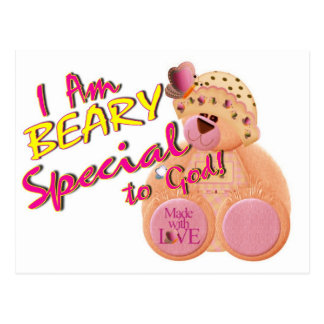 Beary Special to God Postcard