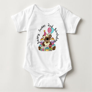 Beary Sweet 2nd Birthday T-shirts and Gifts