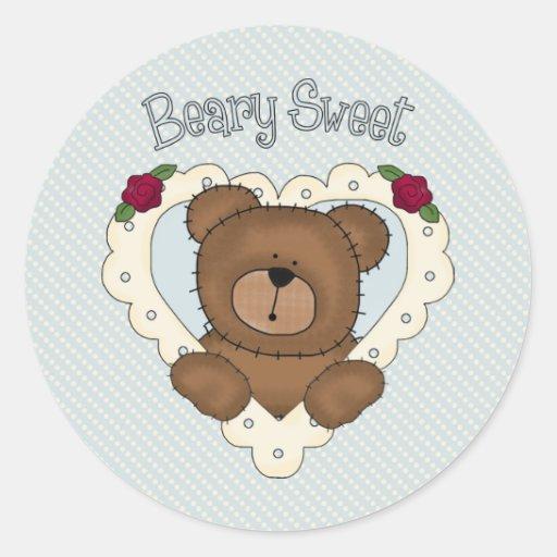 Beary Sweet - Blue Sticker