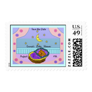 Beary Sweet Dreams Baby Shower Postage