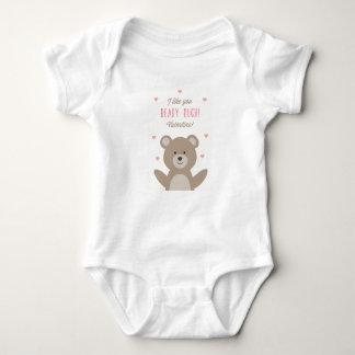 Beary Valentine Baby Onsie Baby Bodysuit