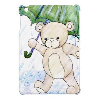 Beary wet teddy iPad mini cover