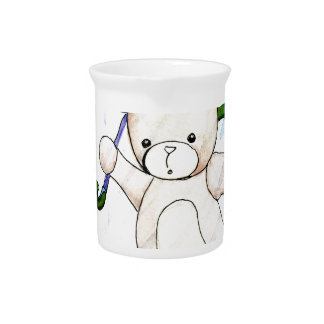 Beary wet teddy pitcher