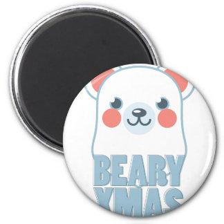 Beary Xmas Magnet