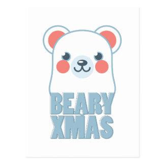 Beary Xmas Postcard