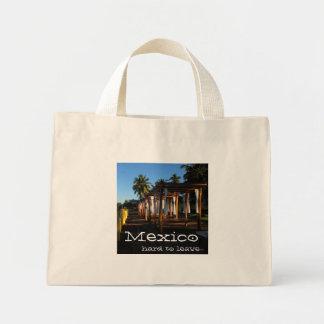 BEASHA Beach Shadows Mini Tote Bag