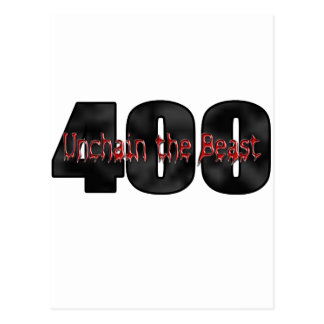 beast 400 cubic inches postcard